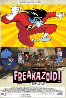 Freakazoid The Movie (2000) Poster