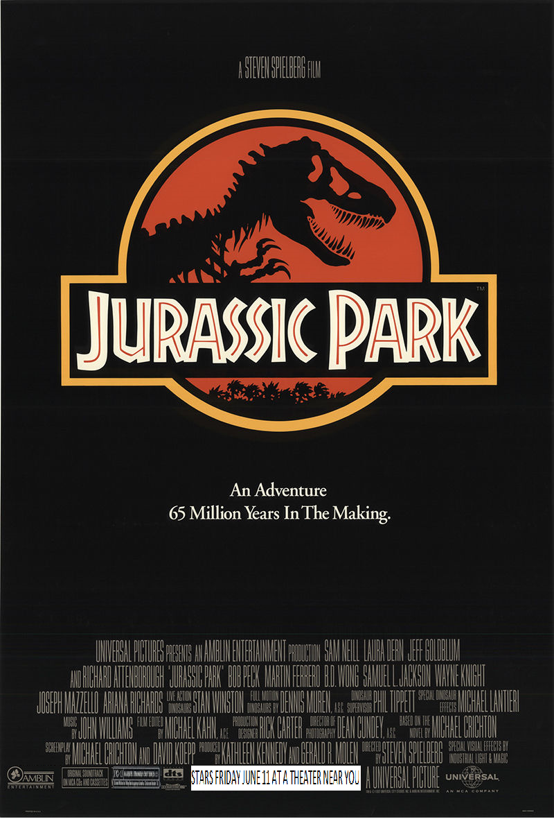 Opening To Jurassic Park AMC Theaters (1993)   Scratchpad