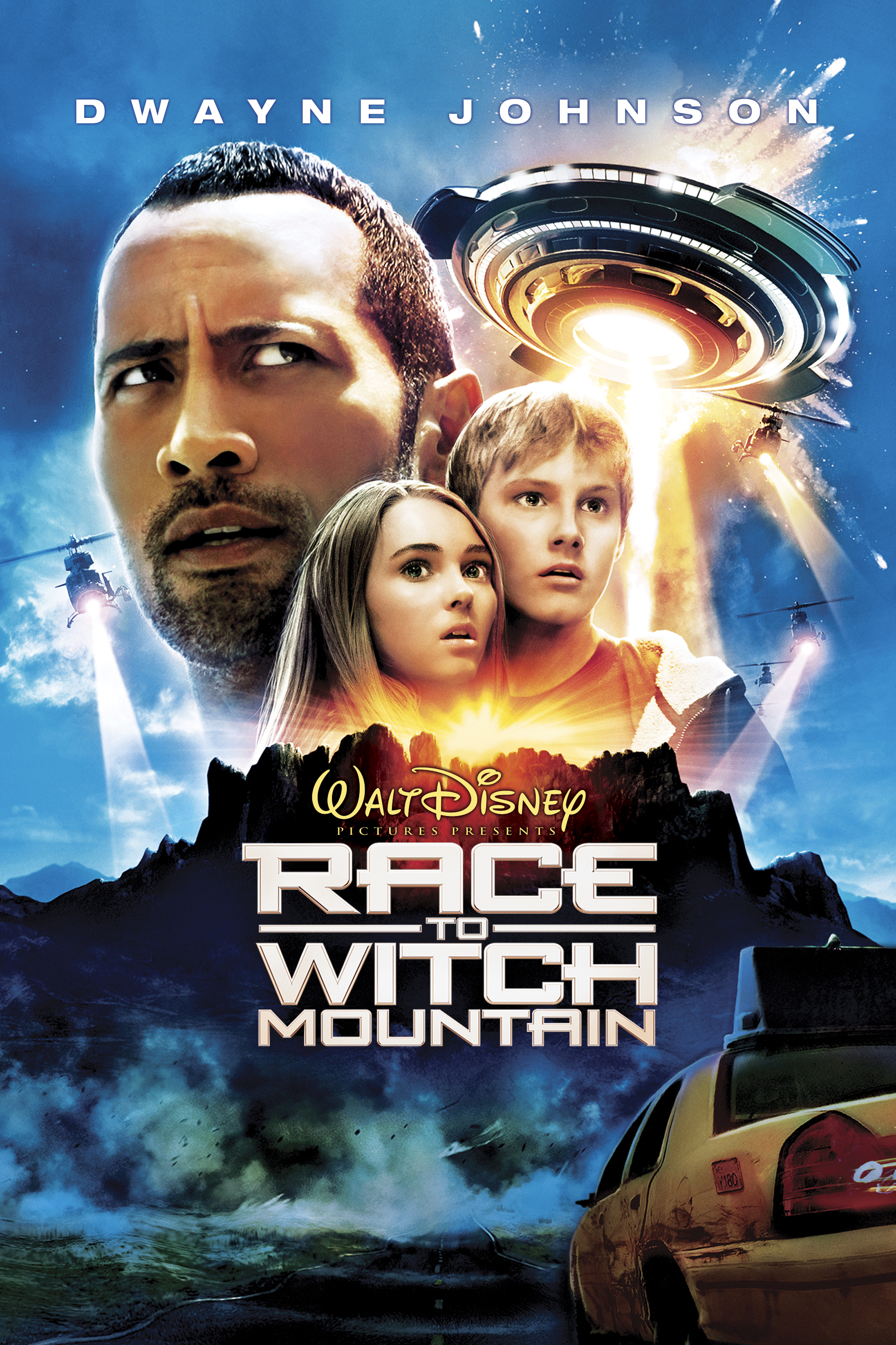 Race To Witch Mountain Poster Artwork Dwayne Johnson
