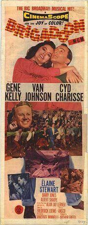 1954 - Brigadoon Movie Poster