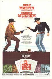 1968 - 5 Card Stud Movie Poster