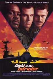 1991 - Flight of the Intruder Movie Poster