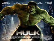 2008 - The Incredible Hulk Movie Poster