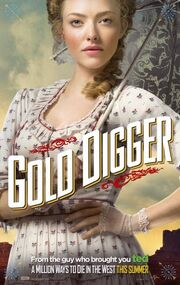 2014 - A Million Ways to Die in the West Movie Poster (Amanda Seyfried)