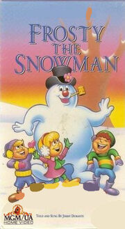 Frosty the snowman mgm ua vhs