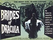 1960 - The Brides of Dracula Movie Poster