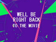 Disney XD Toons Theater Well Be Right Back Bumper 2017