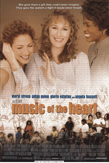 Music Of The Heart (1999) Poster