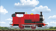 Tyrone the Little Red Engine
