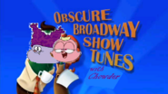 Broadway show tunes with chowder