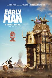 2018 - Early Man Movie Poster