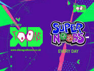 Disney XD Toons Super Noobs Every Day 2019 (UK)