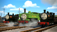 Duck, Donald, and Douglas in Sodor's Legend Of The Lost Treasure
