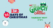 Disney XD Toons 25 Days of Christmas How The Grinch Stole Christmas Movie Promo 2019