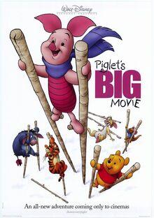 Piglet Big Movie 2003 Poster