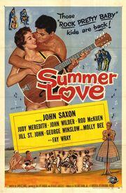 1958 - Summer Love Movie Poster