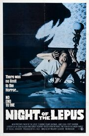 1972 - Night of the Lepus Movie Poster