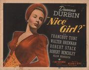1941 - Nice Girl Movie Poster