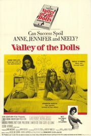 1967 - Valley of the Dolls Movie Poster