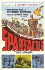 1960 - Spartacus Movie Poster -1