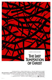 1988 - The Last Temptation of Christ Movie Poster