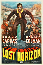 1937 - Lost Horizon Movie Poster