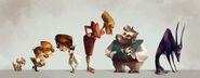 Dreamworld lineup by zakeno-d6wdv7z