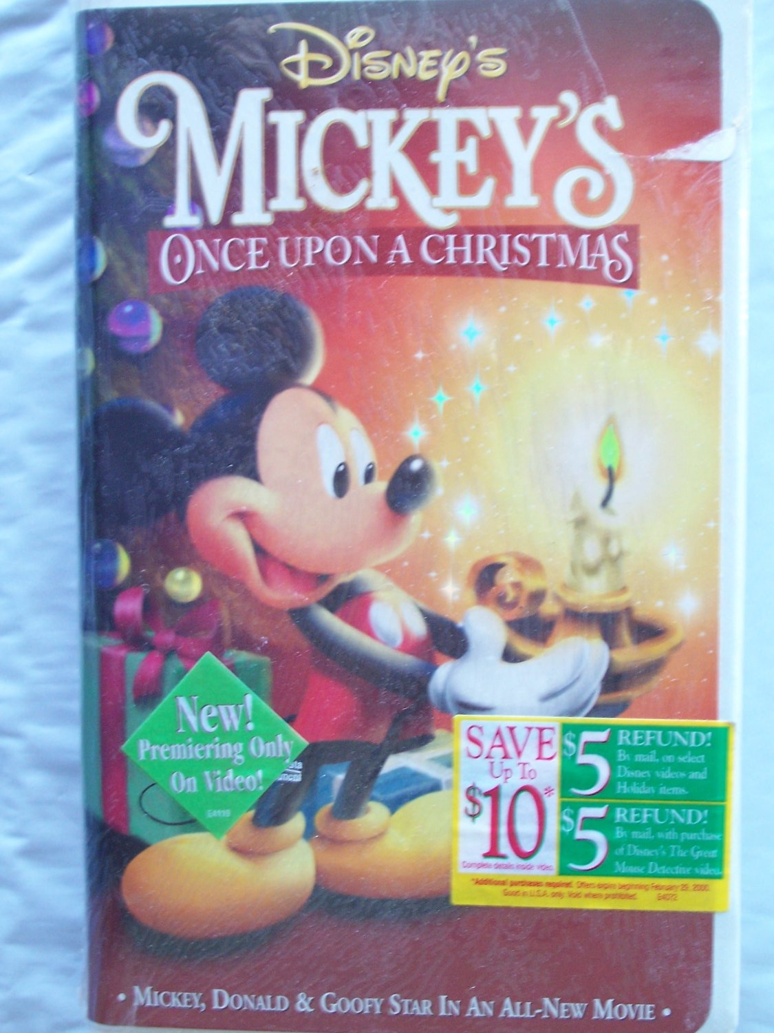 mickeys once upon a christmas the 1999 vhs paramount version coming to videocassette 91 r7uwrjbl sl1500 - Mickeys Once Upon A Christmas Vhs