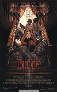 Buddy 1997 poster by lflan80521-dbf8y7o
