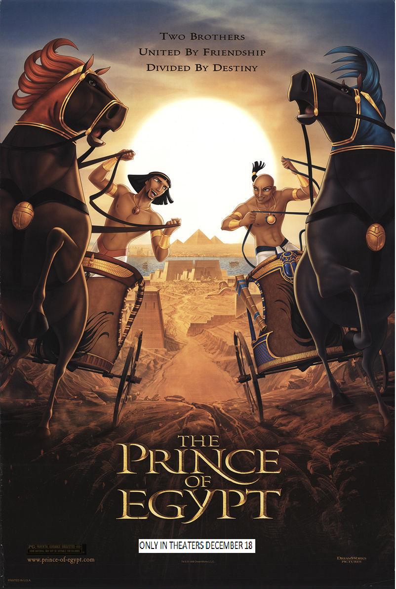The Prince of Egypt (1998) - Rameses vs. Moses