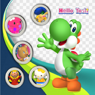 Yoshi and her friends