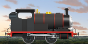 Corey the Little Black Engine