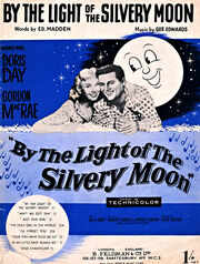1953 - By the Light of the Silvery Moon Movie Poster
