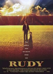 1993 - Rudy Movie Poster