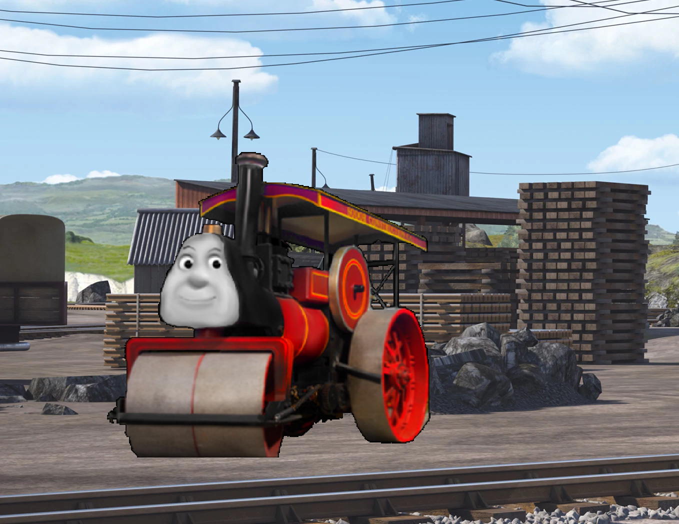 Buster the Steamroller   Scratchpad   FANDOM powered by Wikia