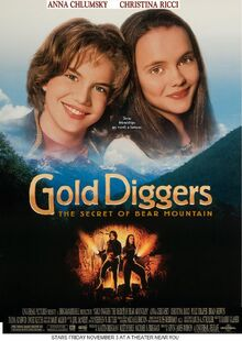 Gold Diggers The Secret Of Bear Mountain (1995) Theatrical Poster