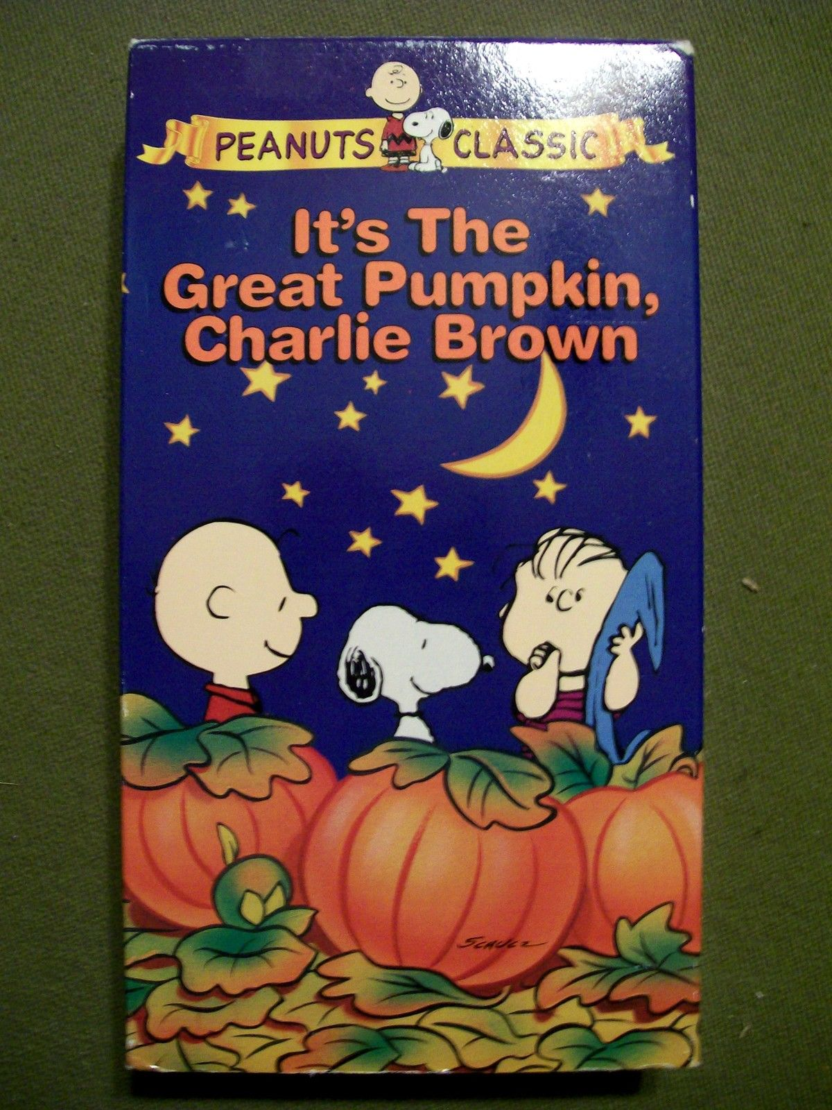 It's The Great Pumpkin Charlie Brown Quotes Image  It's The Great Pumpkin Charlie Brown 1994 Vhs