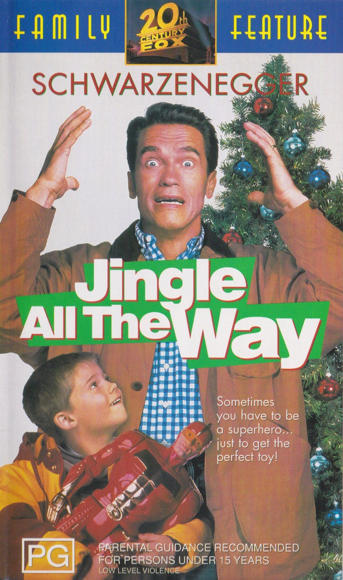 Opening To Jingle All The Way 2000 VHS (Australia Print