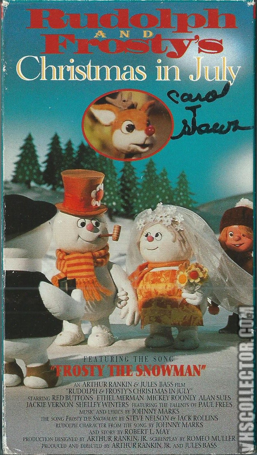 Rudolph And Frostys Christmas In July.Opening To Rudolph And Frosty S Christmas In July 1994 Vhs