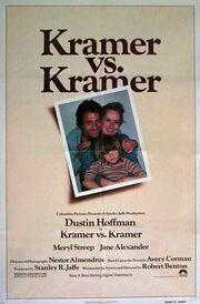 1979 - Kramer vs. Kramer Movie Poster