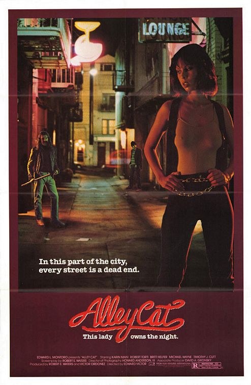 1984 Alley Cat Movie Poster Jpg