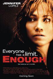 2002 - Enough Movie Poster