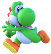 New Render super crystal Yoshi