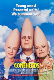 1993 - Coneheads Movie Poster