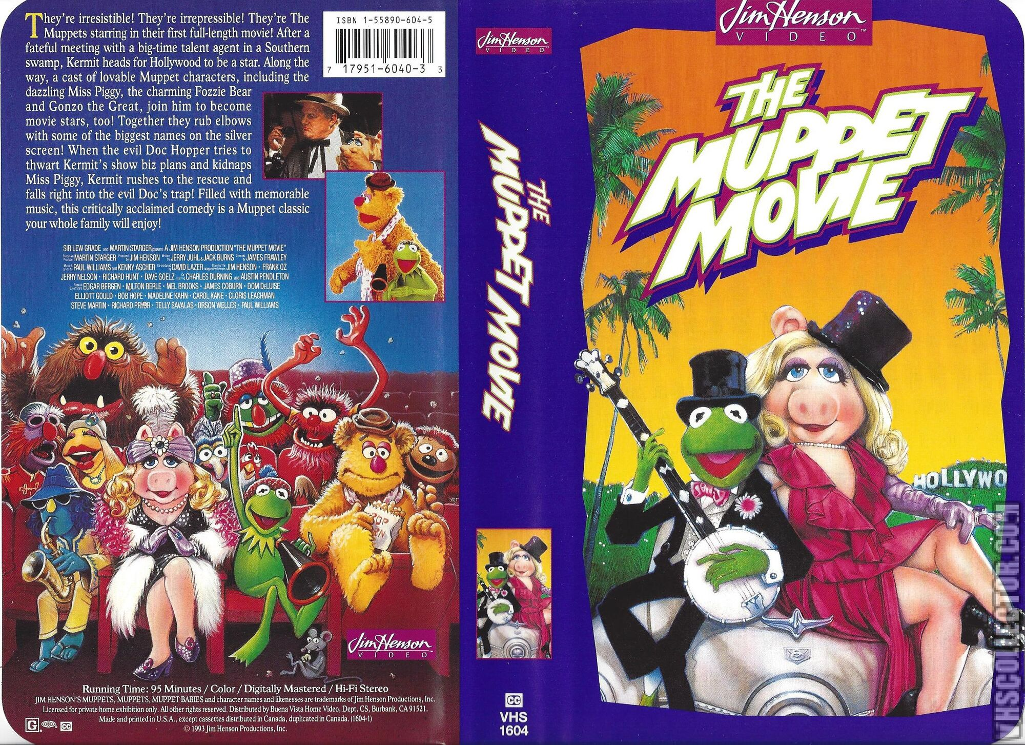 Opening To The Muppet Movie 1993 VHS (Buena Vista and Jim ...