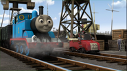 Thomas helps out (stock footage 2)