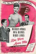 1946 - Do You Love Me ad