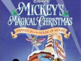 Opening to Mickey's Magical Christmas: Snowed in at the House of Mouse 2001 Theater (Regal Cinemas)