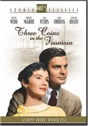 Three coins in the fountain DVD cover