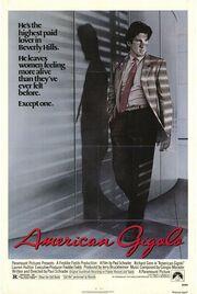 1980 - American Gigolo Movie Poster